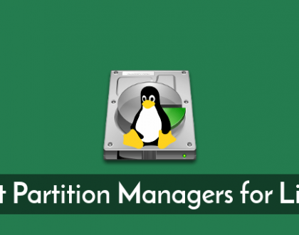 LinuxPartitionManagers