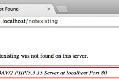 تغییر اسم وب سرور آپاچی در هدر