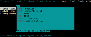 Monitor-User-Information