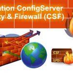 نصب CSF در لینوکس