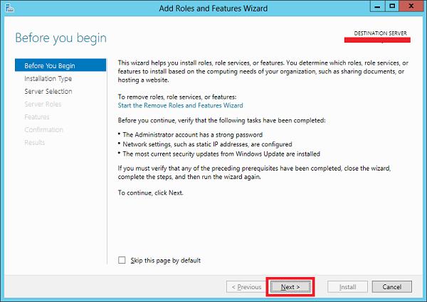 اضافه کردن rule به ویندوز سرور