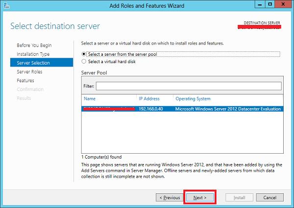 نصب IIS بر روی ویندوز سرور