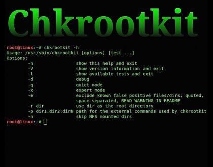 نصب chkrootkit