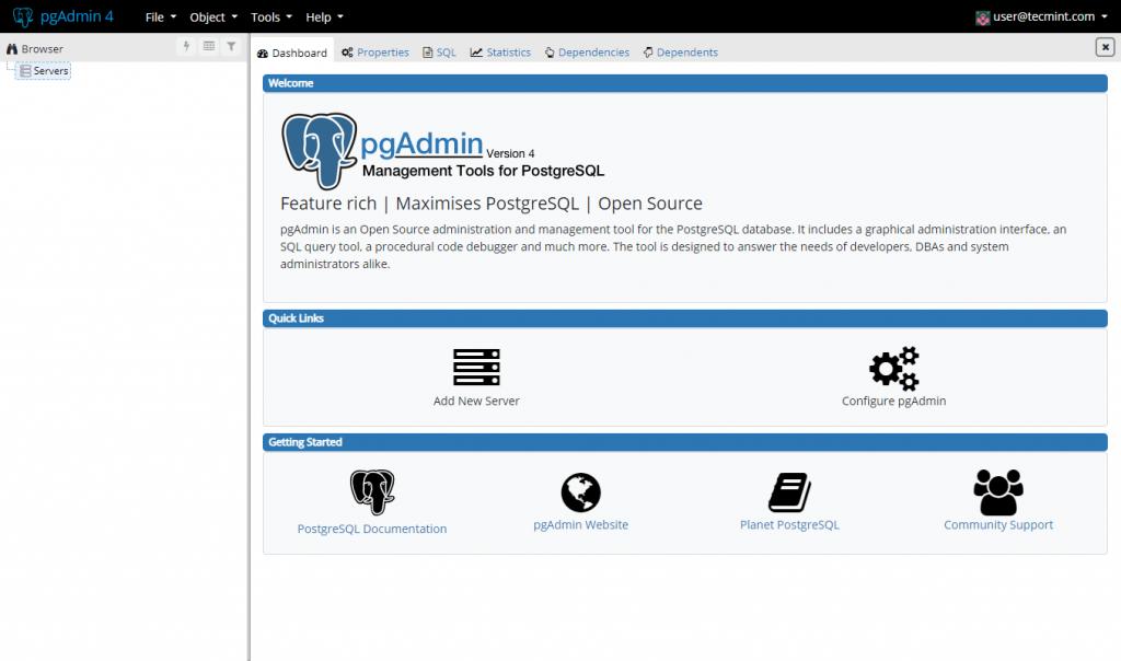 PgAdmin4 چیست ؟
