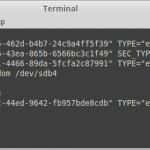 عوض کردن UUID پارتیشن در لینوکس