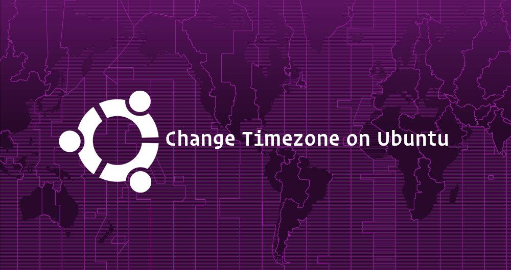 تنظیم منطقه زمانی در اوبنتو