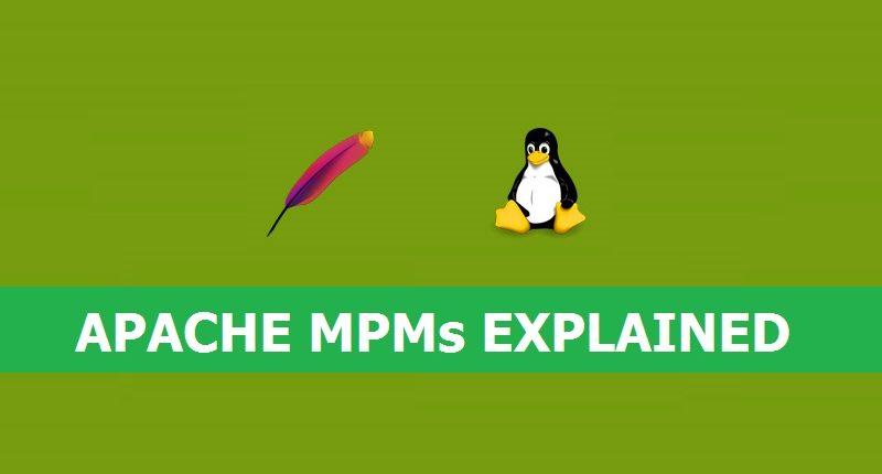 نحوه ی کارکرد ماژول های MPM آپاچی