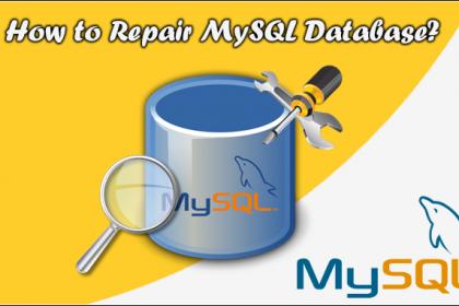 تعمیر جدول های خراب در MySQL