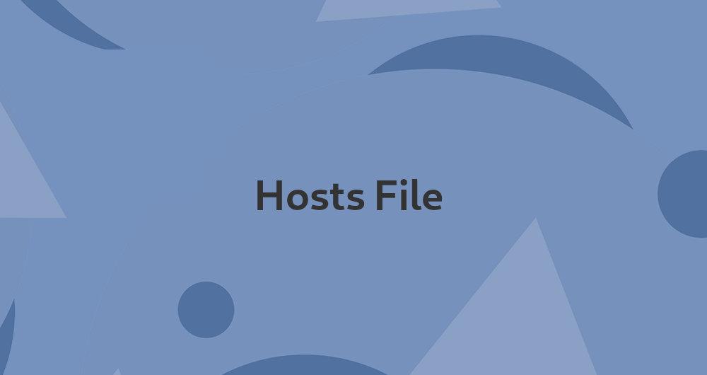 نحوه ی ویرایش فایل Hosts