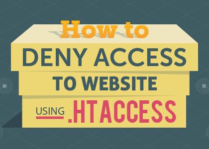 مسدود کردن آی پی از طریق htaccess