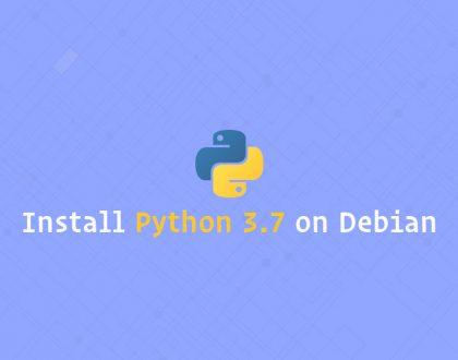 نصب Python 3.7 بر روی دبیان