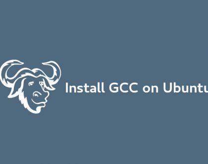 نصب کامپایلر GCC بر روی Ubuntu