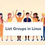 گروه ها در لینوکس